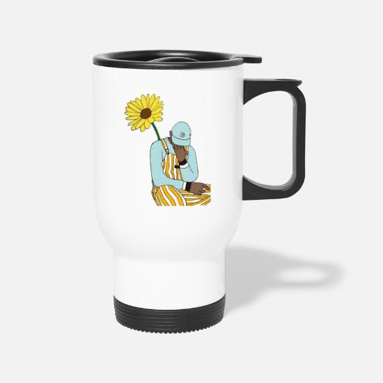 Tyler Mugs & Drinkware - the creator - Travel Mug white
