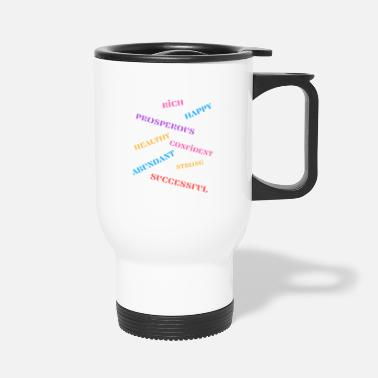 Manifestation I am Manifesting - large design - Travel Mug