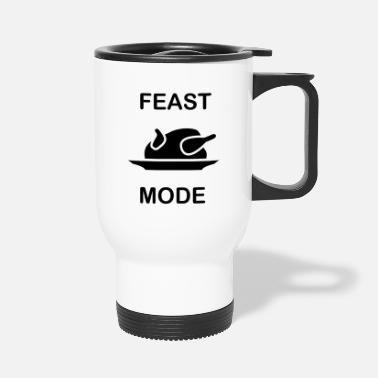 Feast Day Feast mode christmas chicken - Travel Mug