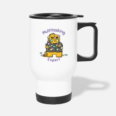 Multitask Multitasking Expert - Travel Mug