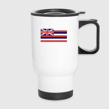 Hawaii State Flag - Travel Mug