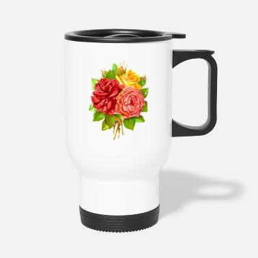 Rose Roses - Travel Mug