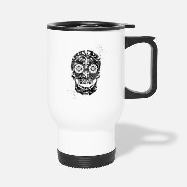 Skull Sugar Skull - Travel Mug
