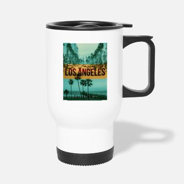 Los Angeles los angeles california - Travel Mug