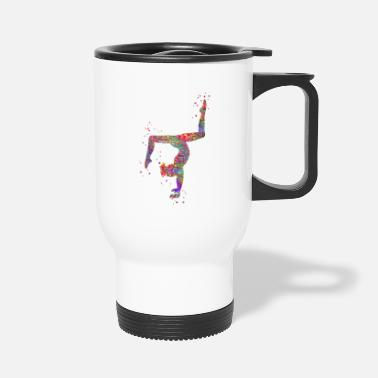 Gymnastic Gymnastics girl - Travel Mug