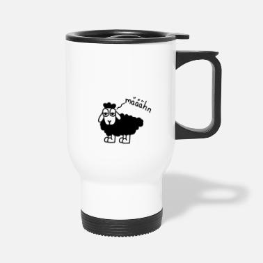 Tired sheep - Travel Mug