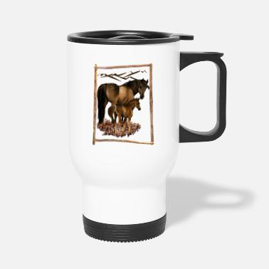 Mare Mare and Baby - Travel Mug