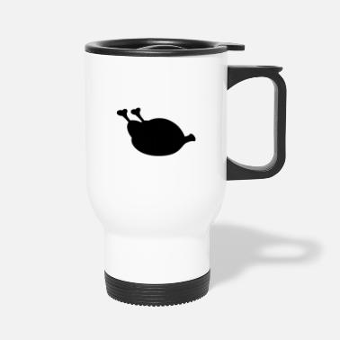 Roast roast turkey - Travel Mug