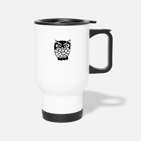 Birthday Mugs & Drinkware - Animals - Travel Mug white