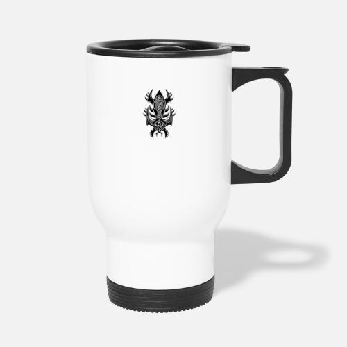 Lucky Charm Jewellery Space Art Object Travel Mug - white