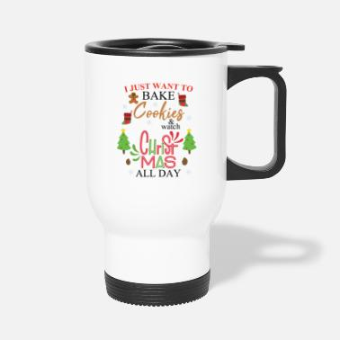 Jewelry Just want bake Cookies - Premium Design - Travel Mug