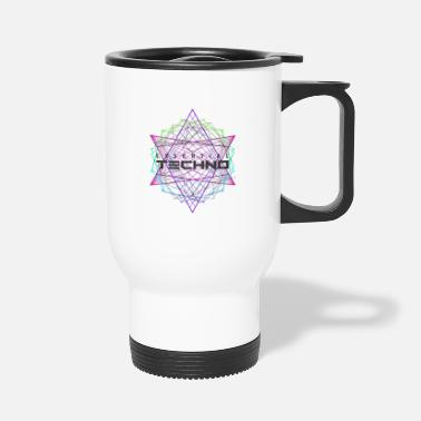 Rave Essential Techno House Electronic Music Party EDM - Travel Mug