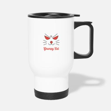 Grumpy Grumpy Cat - Grumpy - Travel Mug