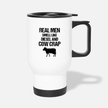 Back Yard Farmer Farming Farm Animal Tractor Back Yard Gift - Travel Mug