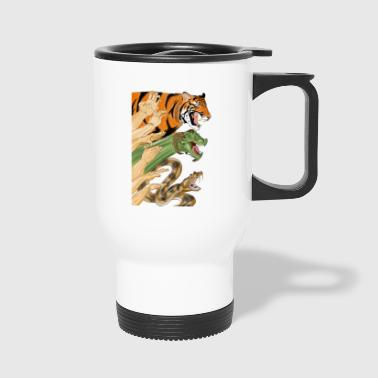 Shaolin Form - Travel Mug