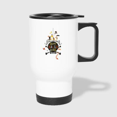 partner on trick - Travel Mug