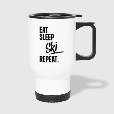 Ski EAT SLEEP SKI - Travel Mug