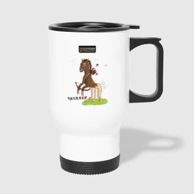UPSIDEDOWN Mythology - Travel Mug