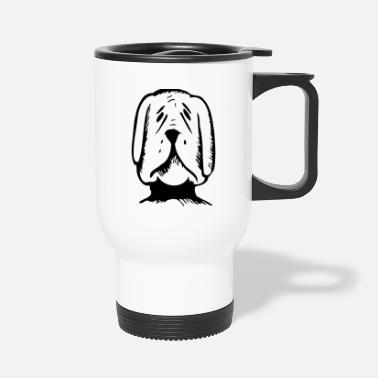 cool dog 13 black - Travel Mug