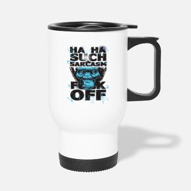 Sarcasm The Sarcasm - Travel Mug