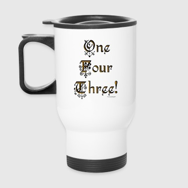 1-4-3:   Social Media acronym for I LOVE YOU! - Travel Mug