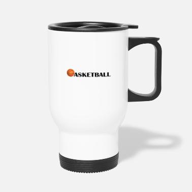 Court Basketball - Travel Mug