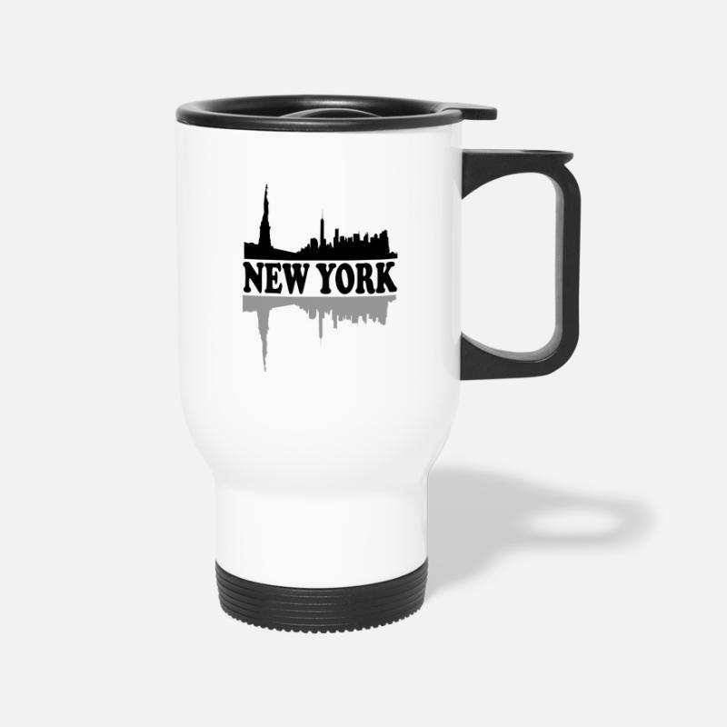 New York City Skyline NYC Lovers Fans Gift Idea Travel Mug