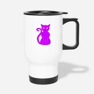 Fur Cute Cat Animal Pet Design - Travel Mug