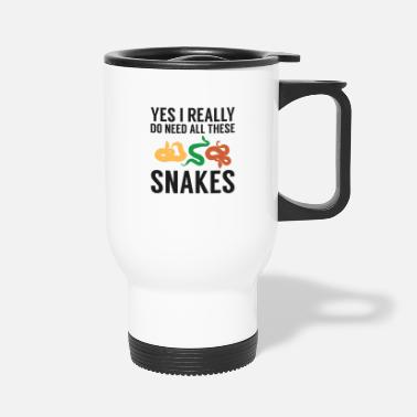 Boa Funny Reptile Breeder Snake Owner Gift I Nedd All - Travel Mug
