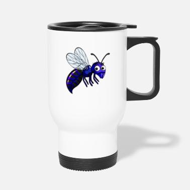 Stinger Funny Wasp - Flying Bug Insect - Stinger Humor - Travel Mug