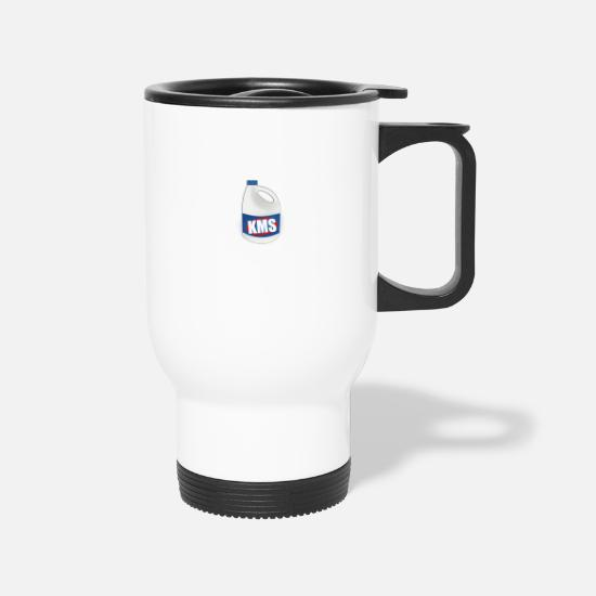 Bleach Mugs & Drinkware - KMS Bleach Bottle - Travel Mug white