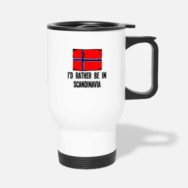 Scandinavia I'd Rather Be In Scandinavia - Travel Mug