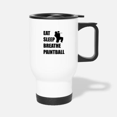 Paintball Eat Sleep Breathe Paintball - Travel Mug