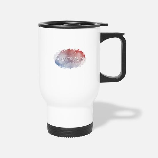 Australia Mugs & Drinkware - Australia - Travel Mug white