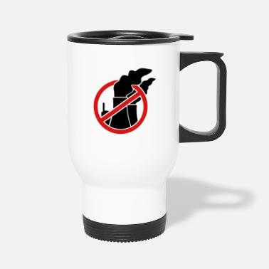 Nuclear Power Against nuclear power - Travel Mug