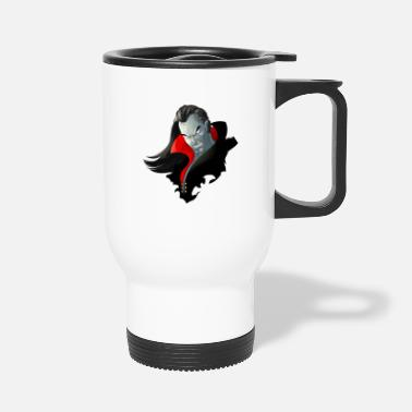 Count Dracula Count Dracula Vampire Monster - Travel Mug