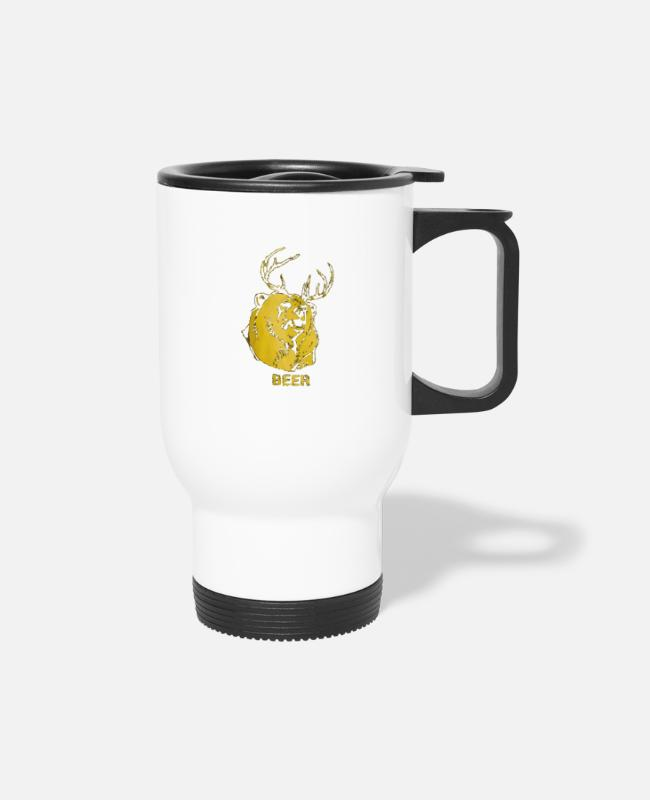 Mac Its Always Sunny Mugs & Cups - macs beer always sunny in philadelphia - Travel Mug white