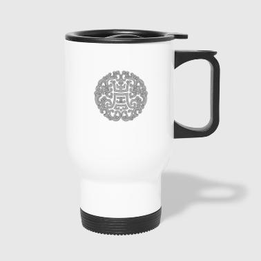 chinese traditional pattern - Travel Mug