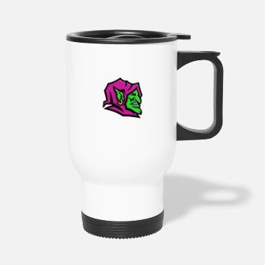 Gobelin Goblin Head Mascot - Travel Mug
