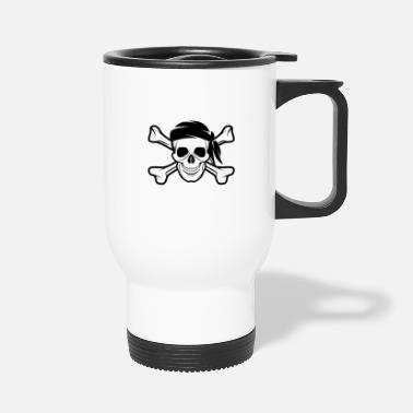 Banderas Pirate Skull Banderas - Travel Mug