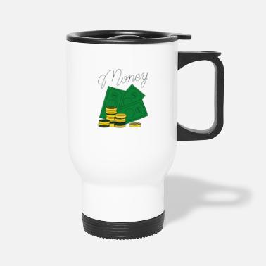 Vector Money Vector - Travel Mug