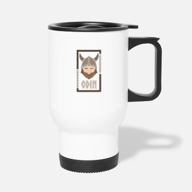 God Mother Odin Vikings Viking Gift Idea - Travel Mug