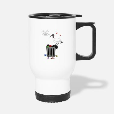 Xmas Bin Chicken - Travel Mug