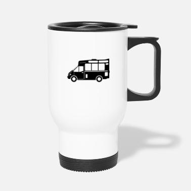 Food truck graphic Black - Travel Mug
