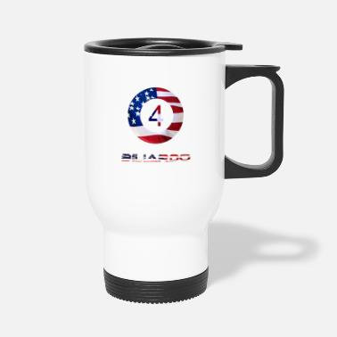 American Flag the American flag - Travel Mug
