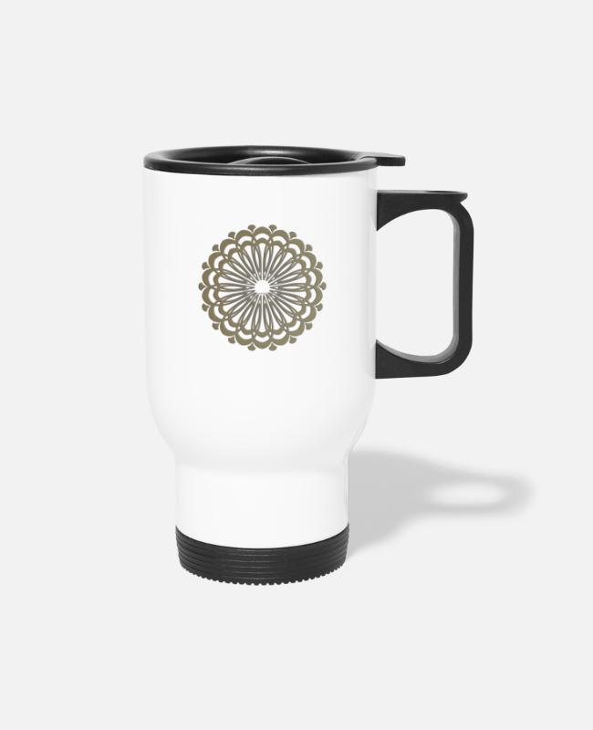 Heart Mugs & Cups - ART AND DECORATION - Travel Mug white