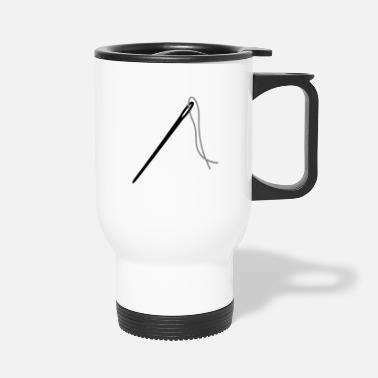 Thread needle & thread - Travel Mug