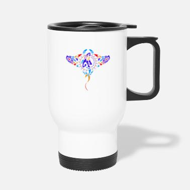 Nightspot Manta Ray fish - Travel Mug