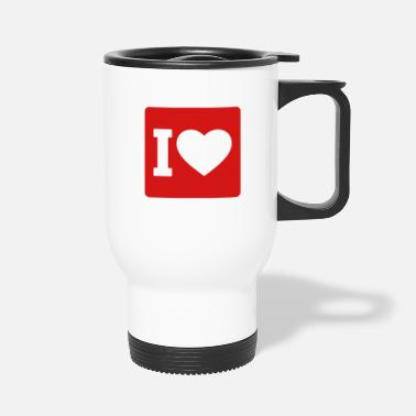 I Love I love - Travel Mug