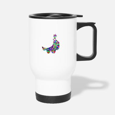 Dressing dress - Travel Mug
